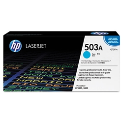 HP Q7581A Genuine Cyan Toner Cartridge