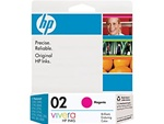 HP #02 Genuine Magenta Inkjet Ink Cartridge C8772WN