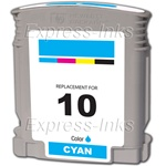 HP #10 Cyan Inkjet Ink Cartridge C4841A