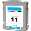 HP #11 Cyan Inkjet Ink Cartridge C4836A