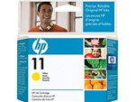 HP #11 Yellow Inkjet Cartridge C4838A