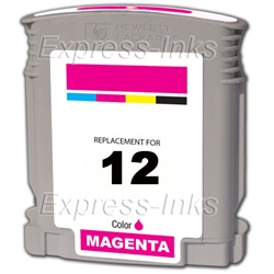 HP #12 Magenta Inkjet Ink Cartridge C4805A