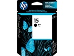 HP 15 Black Inkjet Cartridge C6615DN