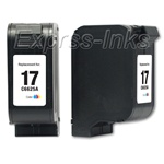 HP 17 Tri-Color Inkjet Cartridge C6625AN