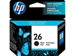 HP #26 Genuine Black Ink Cartridge 51626A