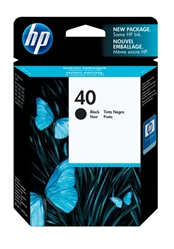 HP 40 Black Inkjet Cartridge 51640A