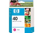 HP 40 Magenta Inkjet Cartridge 51640M