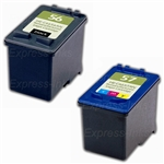 HP 56/57 Black/Tri-Color Ink Cartridges C9321FN
