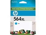 HP 564XL Genuine Cyan Inkjet Cartridge CB323WN