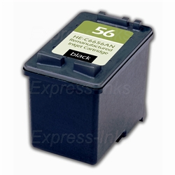 HP #56 Black Ink Cartridge C6656AN