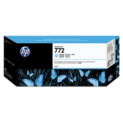 HP #772 Light Cyan Genuine Inkjet Ink Cartridge CN632A