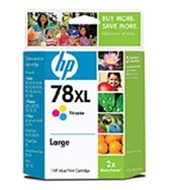 HP #78XL Genuine Tri-Color Inkjet Ink Cartridge C6578AN