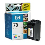HP #78 Genuine Tri-Color Ink Cartridge C6578DN