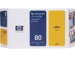 HP 80 Yellow Ink Cartridge C4848A