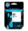 HP #82 Genuine Cyan Inkjet Ink Cartridge C4911A