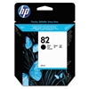 HP #82 Genuine Black Ink Cartridge CH565A