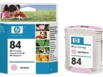 HP #84 Genuine Light Magenta Ink C5018AA