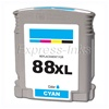 HP 88XL Cyan Inkjet Cartridge C9391AN