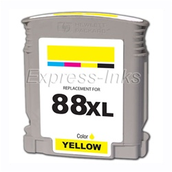 HP 88XL High Yield Yellow Inkjet Cartridge C9393AN
