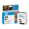 HP 88 Genuine Black Inkjet Ink Cartridge C9385AN