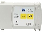 HP #90 High Yield Yellow Genuine Ink C5065A