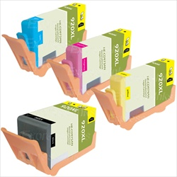 HP #920XL High Yield Compatible Ink Cartridge Combo