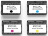 HP Officejet 6600 4-Pack Compatible Ink #932XL/ #933XL
