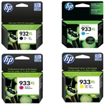 HP #932XL/ #933XL Genuine Ink Combo CN053AN-6AN
