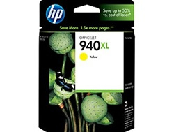 HP 940XL Yellow Inkjet Cartridge C4909AN