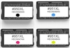 HP #950XL/ #951XL 4-Pack Compatible Ink Combo