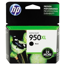 HP #950XL Genuine Black Ink Cartridge CN045AN