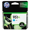 HP #951XL Genuine Cyan Ink Cartridge CN046AN