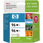 HP #96 2-Pack Genuine Black Inkjet Combo C9348FN