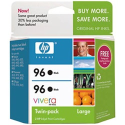 HP #96 Genuine Black Ink Cartridge Combo C9348FN