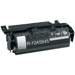 Lexmark 12A5845 High Yield Black Toner Cartridge