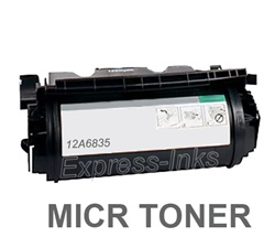Lexmark 12A6835 High Yield MICR Toner Cartridge