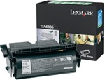Lexmark 12A6835 High Yield Genuine Toner Cartridge