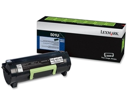 Lexmark 50F1U00 Genuine Toner Cartridge 501U