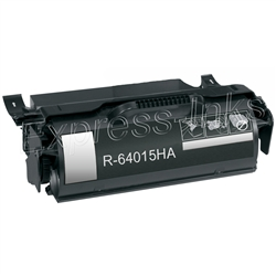 Lexmark 64015HA High Yield Black Toner Cartridge