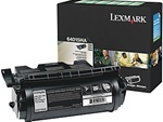 Lexmark 64015HA Genuine High Yield Toner Cartridge