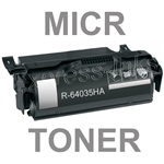 Lexmark 64035HA High Yield MICR Toner Cartridge