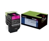 Lexmark 70C1HM0 Genuine Magenta Toner Cartridge 701HM