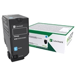 Lexmark 74C1SC0 Genuine Cyan Toner Cartridge