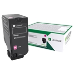 Lexmark 74C1SM0 Genuine Magenta Toner Cartridge