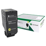 Lexmark 74C1SY0 Genuine Yellow Toner Cartridge
