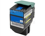 Lexmark 80C1HC0 Compatible Cyan Toner Cartridge 801HC