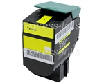 Lexmark 80C1HY0 Compatible Yellow Toner Cartridge 801HY