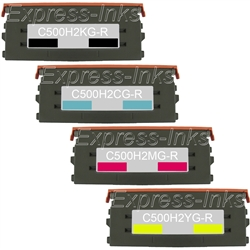 Lexmark C500N Compatible Toner Combo