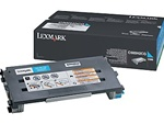 Lexmark C500H2CG Genuine Cyan Toner Cartridge
