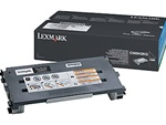 Lexmark C500H2KG Genuine Black Toner Cartridge